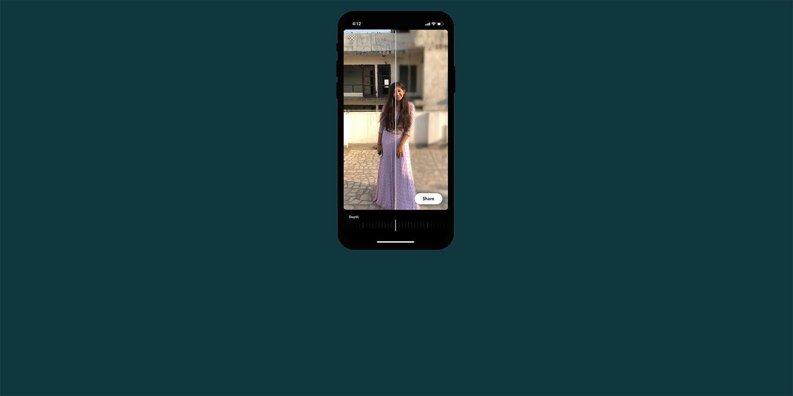 DepthBlur — простое приложение, которое быстро размывает фон на фотографиях