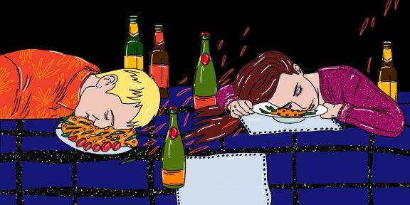 6 худших вещей, которые вы можете сделать в новогоднюю ночь