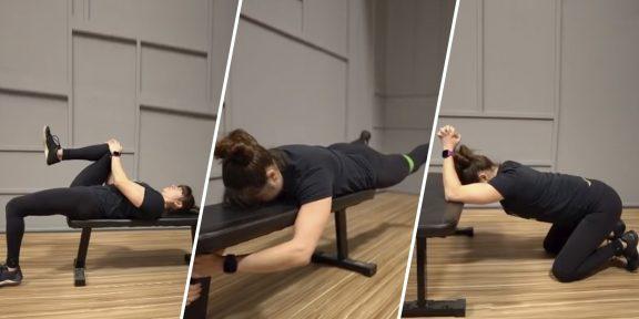 Тренировка дня: 4 упражнения от боли в пояснице
