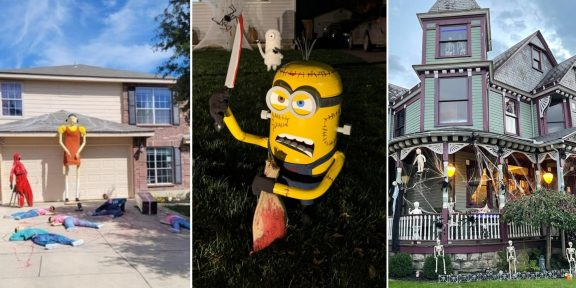Хеллоуин с размахом: 15 фото домов и дворов настоящих фанатов праздника