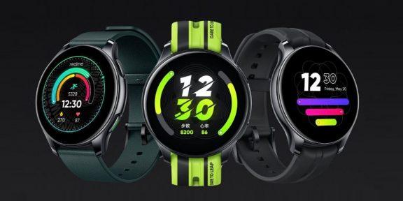 Представлены бюджетные смарт-часы Realme T1 с поддержкой звонков и NFC